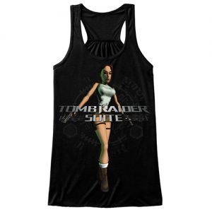 Tee-Black-Female-TankTop-Vest-Front-Classic