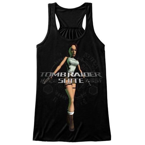 Tee-Black-Female-TankTop-Vest-Front-Classic